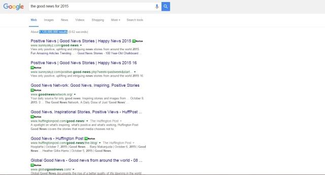 Google good news