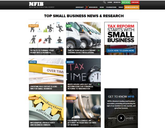 NFIB Website
